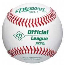 Diamond DOL-1 Official League Baseballs, dz