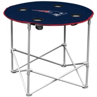 New England Patriots NFL Pop-Up/Folding Round Table