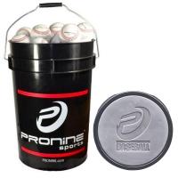 Pro Nine Wet Weather Bucket w/ 24 P502 High School / College Composite Balls