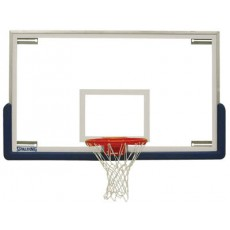 "Spalding 411-007 SuperGlass Scholastic Basketball Backboard, 42"" x 72"""