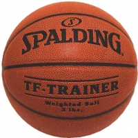 Spalding TF-Trainer Weighted Basketball, 3 lb, WOMEN'S & YOUTH, 28.5""
