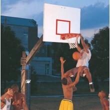 Bison BA871-BK 6'' Square Ultimate Basketball Hoop