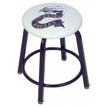 "Clarin Locker Stool, 24""H WITH 2 COLOR LOGO"