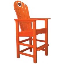 Chicago Bears NFL Outdoor Pub Captains Chair, ORANGE