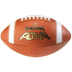 Spalding Alpha Leather Football, 726758