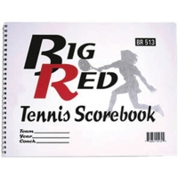 Big Red 5130 Tennis Scorebook