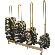Jaypro Stackmaster Football Shoulder Pad Cart, SP4