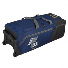 "Wilson Pudge 2.0 Wheeled Catcher's Gear Bag, 39""L x 16.5""W x 13""H"