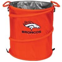 Denver Broncos NFL Collapsible 3-in-1 Hamper/Cooler/Trashcan