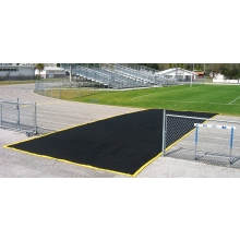 Aer-Flo 3664-G Cross Over Zone Track Protector, 15'x40'