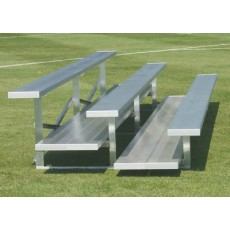 3 Row, 15' PREFERRED Aluminum Bleacher
