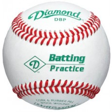 Diamond DBP Batting Practice Baseballs, dz