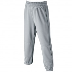 Wilson YOUTH Elastic Waist Baseball Pants, Gray