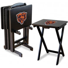 Chicago Bears NFL TV Snack Tray/Table Set