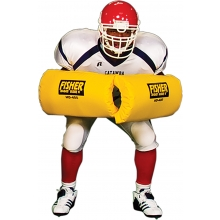 Fisher HD400 Curved Forearm Football Blocking Shields (pr)