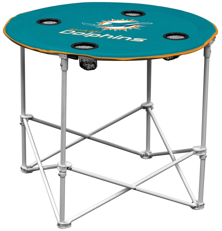 Miami Dolphins NFL PopUpFolding Round Table