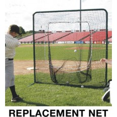 Deluxe Batting Practice REPLACEMENT SOCK NET, 7' x 7'
