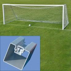 Jaypro 8' x 24' Nova Classic SQUARE Soccer Goals, SGP-760  (pair)