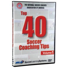 NSCAA Top 40 Soccer Coaching Tips DVD