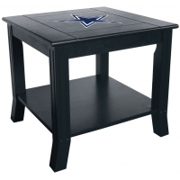 Dallas Cowboys NFL Hardwood Side/End Table