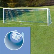 Jaypro 8' x 24' Nova Classic ROUND Soccer Goals, SGP-400  (pair)