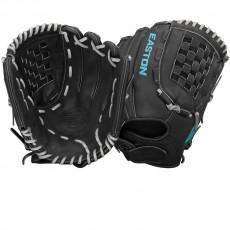 "Easton 12.5"" Core Pro Fastpitch Glove, COREFP 1250BKGY"