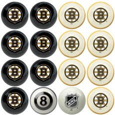 Boston Bruins NHL Home vs Away Billiard Ball Set
