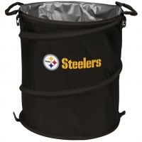 Pittsburgh Steelers NFL Collapsible 3-in-1 Hamper/Cooler/Trashcan
