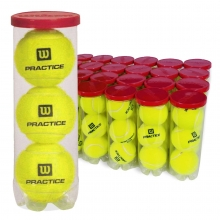 Wilson Practice Tennis Balls, WRT1019W Case of 72