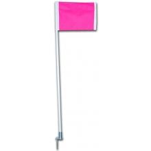 Kwik Goal set/4 Pink Soccer Corner Flags, 6B520
