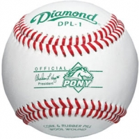 Diamond DPL-1 Pony League Competition Baseballs, dz