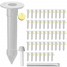 48pk Enduro Fence Ground Socket Package, BS13518