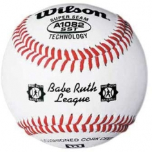 Wilson A1082BSST Babe Ruth Tournament Baseballs, dz