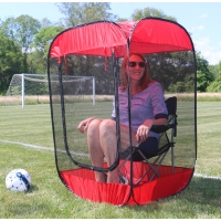 BugPod™ Insect, Bug & Mosquito Sport Pod Pop-Up Screen Chair Tent