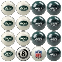 New York Jets NFL Home vs Away Billiard Ball Set