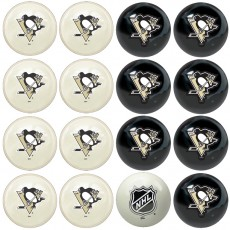 Pittsburgh Penguins NHL Home vs Away Billiard Ball Set