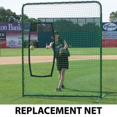 Fastpitch Softball Protective Screen REPLACEMENT NET, 7'H x 7''W