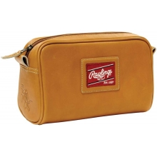 Rawlings Leather Toiletry Travel Kit