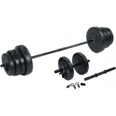 105 lb Traditional USW Weight Set w/ Dumbells