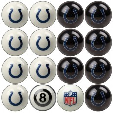Indianapolis Colts NFL Home vs Away Billiard Ball Set
