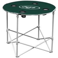 New York Jets NFL Pop-Up/Folding Round Table