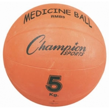Champion 5 Kilo / 11 lb. Rubber Medicine Ball, RMB5