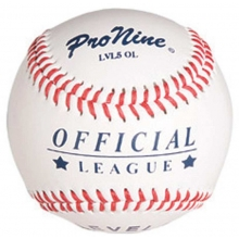 Pro Nine LVL5 OL Official Little League Level 5 Baseballs, dz