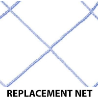 Funnets PVC Goal REPLACEMENT NET, 6' x 8'