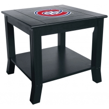 Montreal Canadiens NHL Hardwood Side/End Table