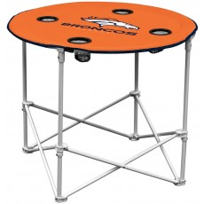 Denver Broncos NFL Pop-Up/Folding Round Table