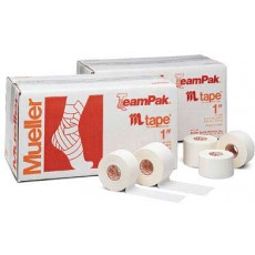 Mueller Zinc Oxide M Tape, 1'' x 10 yds, CASE OF 48
