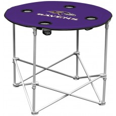 Baltimore Ravens NFL Pop-Up/Folding Round Table