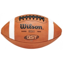 Wilson Pop Warner GST TDY Official Leather Football, age 12-14