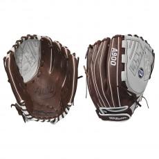 "Wilson 12.5"" Aura Fastpitch Softball Glove, WTA09RF18125"